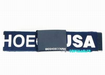 44556099636d ceinture dc shoes cuir,boucle de ceinture dc comics,ceinture canicross zero  dc