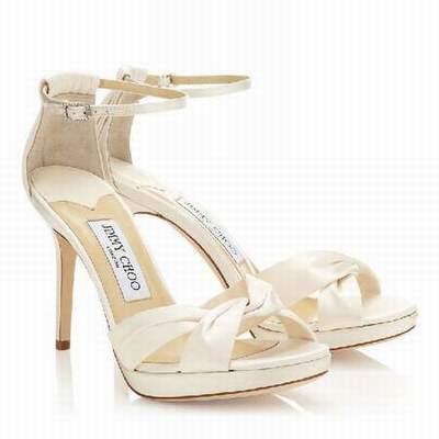 chaussures ivoire femme