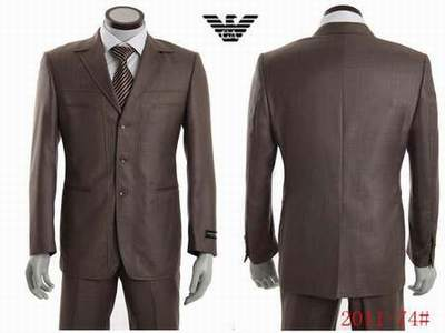 costume armani homme col mao beige kebello 3c778bd6bec