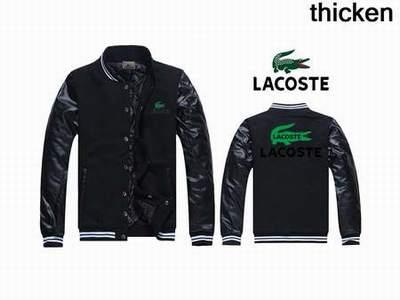 c56699296cd veste lacoste blanche et bleue